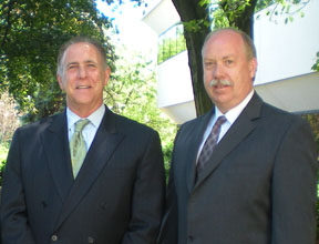Coldwell Banker New Homes & Condominiums VP David Schoner & Bruce Morrow of Coldwell Banker in Bernardsville