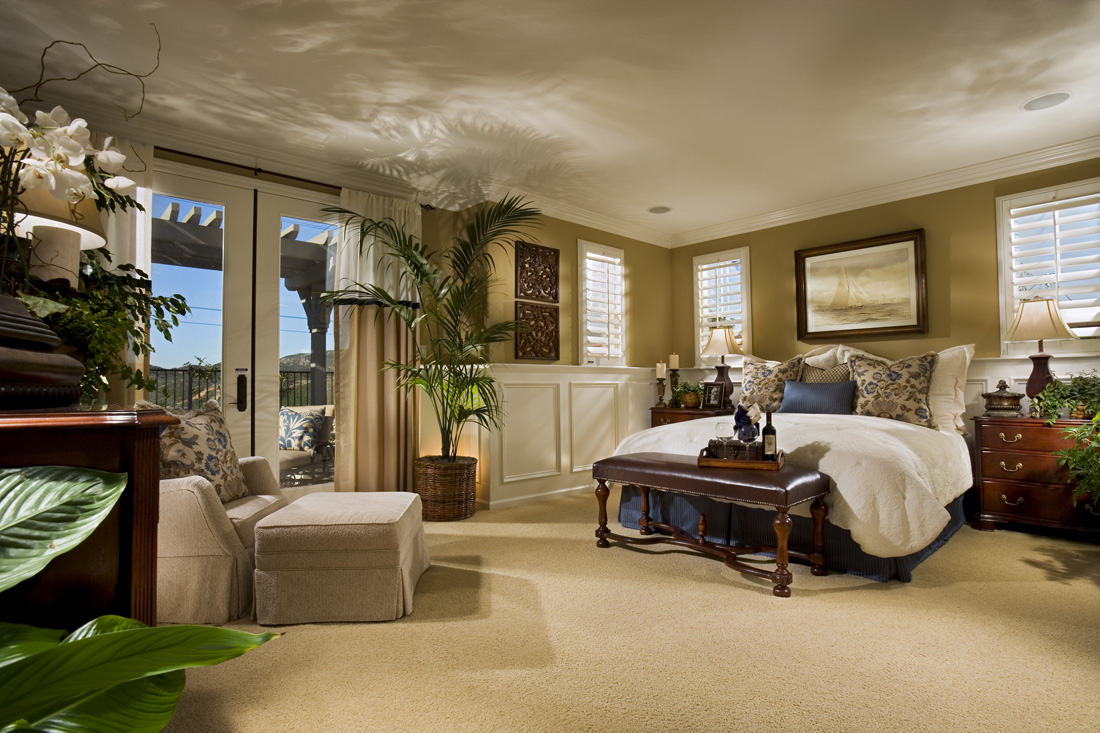 Dual Master Bedroom Suites Ideal for Multi Generational Two Family Living at Mahogany by