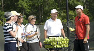 Soleil Residents Enjoy New Additions to Tennis Center