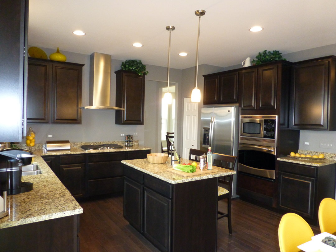 Ryland homes grand opens model at ingham park in aurora for New home kitchens