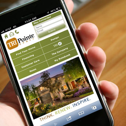 TRI Pointe Homes Mobile App