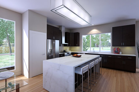 Skyline Modern Kitchen