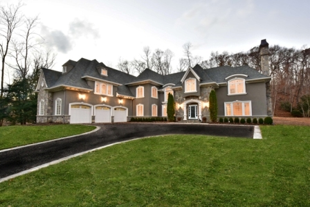 Majestic French Manor at Glen Place in Franklin Lakes, NJ