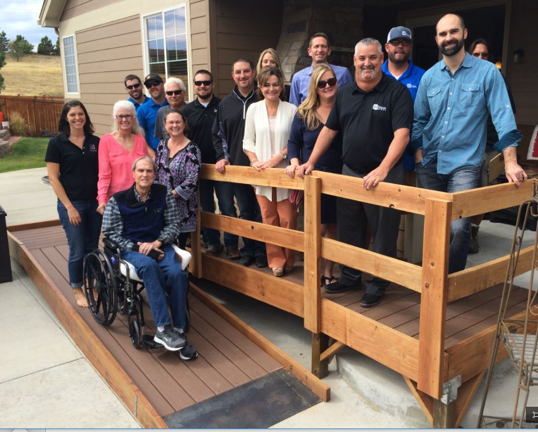 The Home Builders Foundation (HBF), with Project Captain TRI Pointe Homes, recently wrapped up a multi-part home modification from for Merlin Widick.