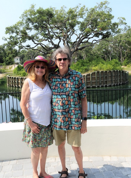 Howard and Catherine Bernstein were also attracted to Ocean Ridge because it is the last planned community in St. Augustine Beach..jpg